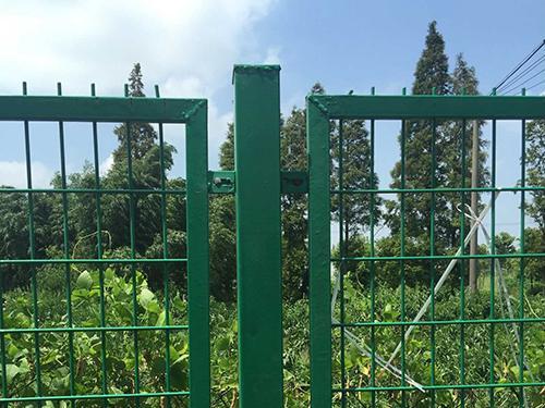 公园护栏网工程案例